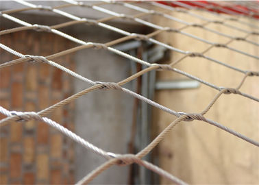 Lightweight Stainless Steel Diamond Wire Mesh Environmental Protection